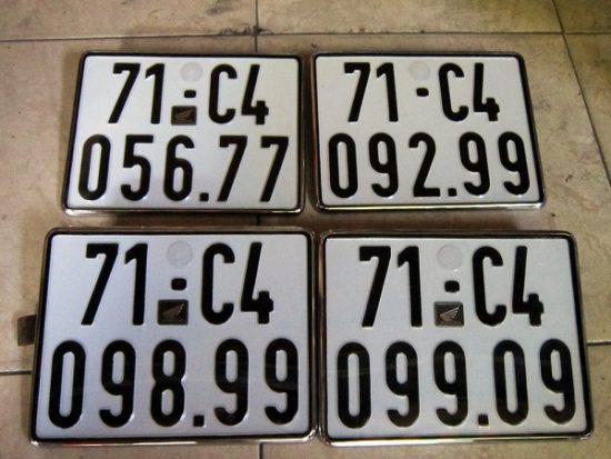 Xem ý nghĩa biển số xe 5 số ô tô và xe máy như thế nào là đẹp?