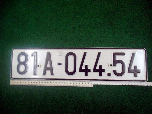 Biển số xe ô tô thuộc Gia Lai