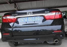 Ký hiệu biển số xe ô tô tại địa bàn tỉnh Bắc Kạn