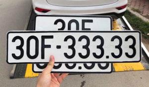 Ý nghĩa biển số xe có đuôi là 33 nói lên điều gì?
