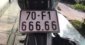 Biển số xe có đuôi 66 mang ý nghĩa gì cho chủ sở hữu