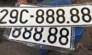 Tìm hiểu biển số xe có đuôi là số 8 mang ý nghĩa gì?
